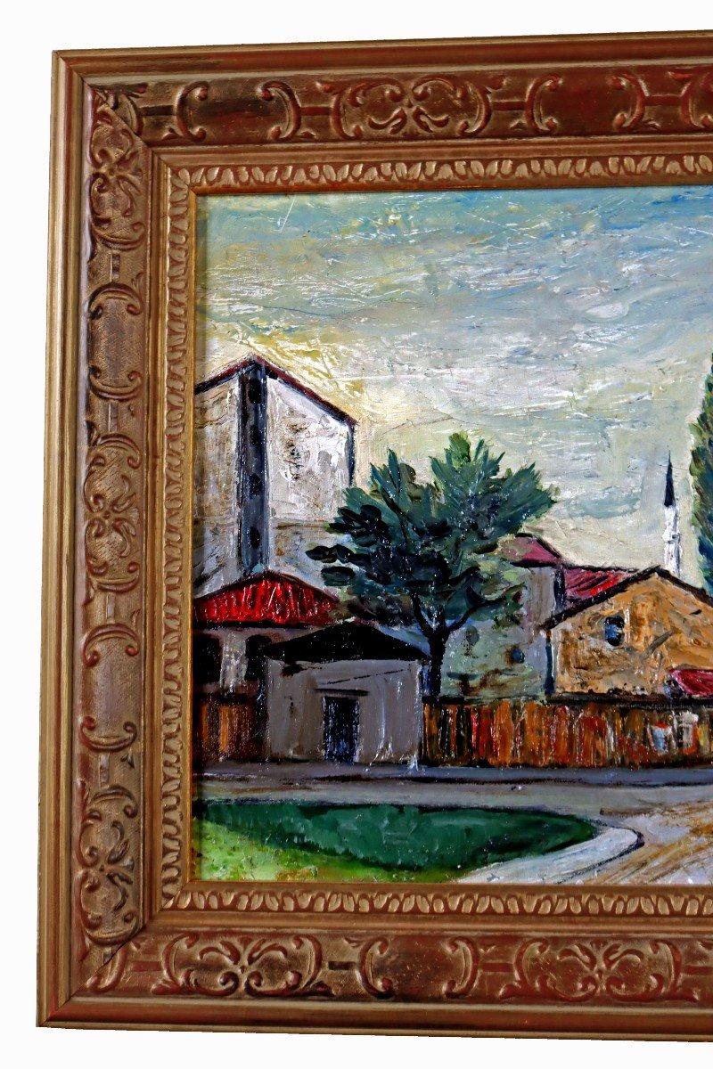 Elisée Maclet (1881-1962) Quartier De La Mosquée-photo-3