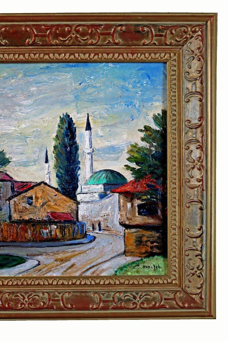 Elisée Maclet (1881-1962) Quartier De La Mosquée-photo-4