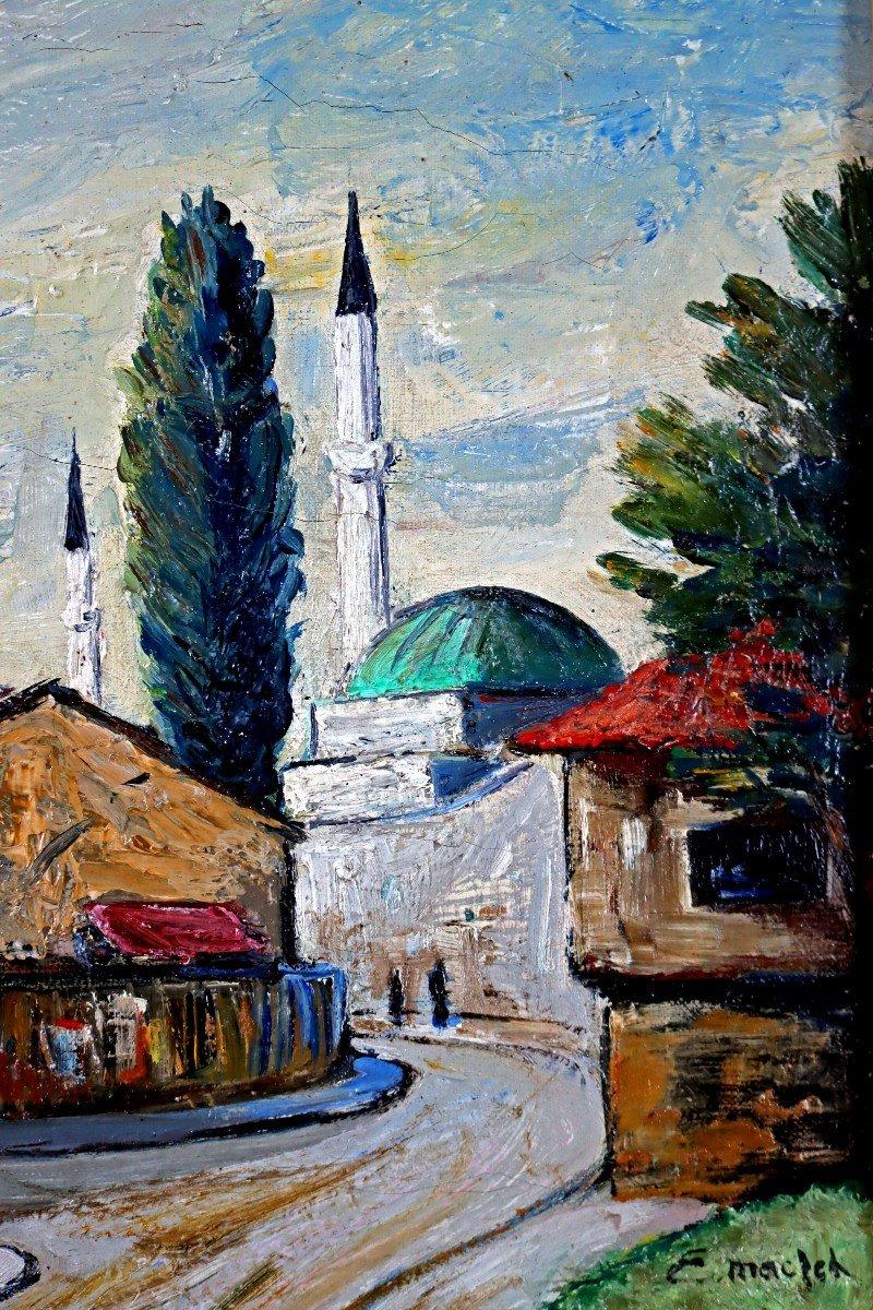 Elisée Maclet (1881-1962) Quartier De La Mosquée-photo-1