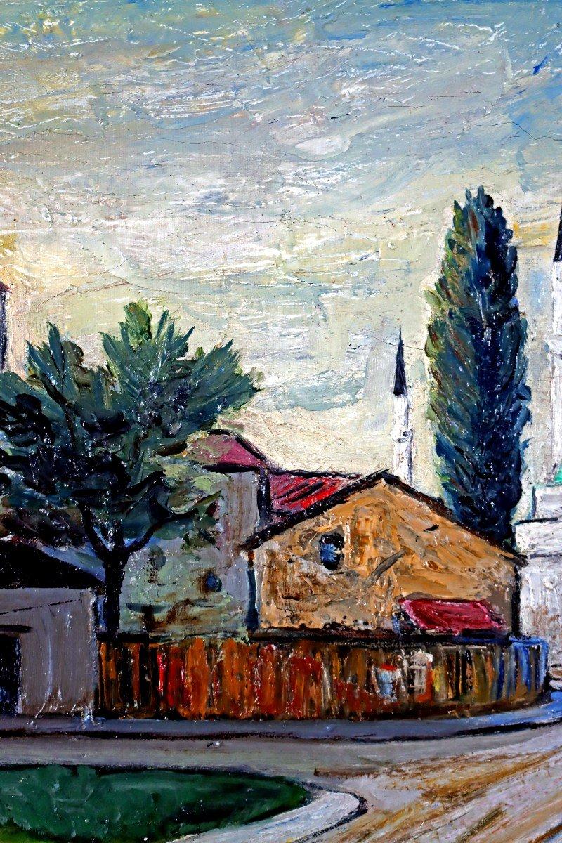 Elisée Maclet (1881-1962) Quartier De La Mosquée-photo-2