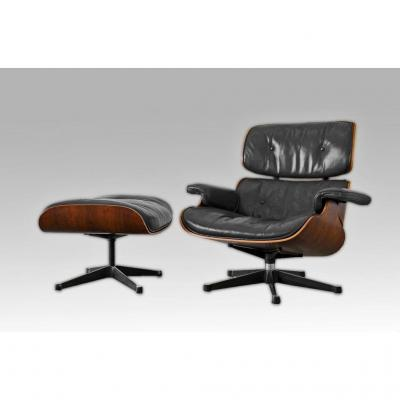 Charles Ray Eames Lounge Chair And Ottoman Armchair Edit. International Furniture