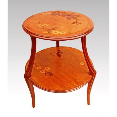 Louis Majorelle Table De Salon 1900