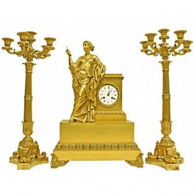 Exceptional Nineteenth Trim Signed Denière Paris