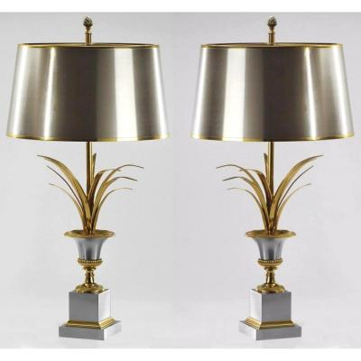Pair Of Charles House Lamps