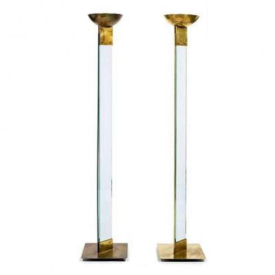 Pair Of Baguera Floor Lamps