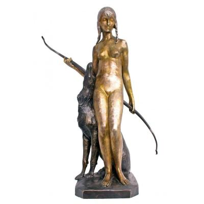 Ary Bitter (1883-1973) Large Bronze Art Deco