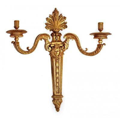 Importante Applique Bronze  XIXe (H: 72 cm)