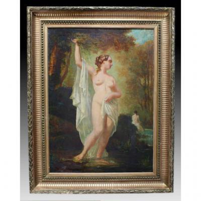 Alexandre Marie Longuet Paint Early Nineteenth