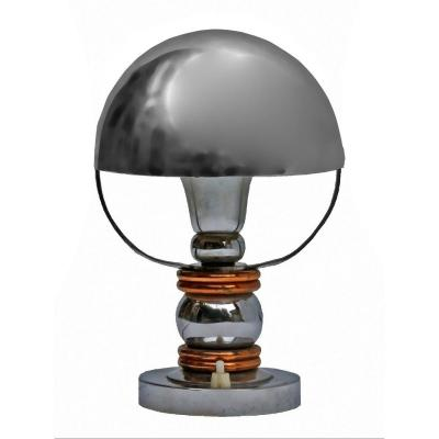 Modernist Lamp 1930 Marcel-louis Baugniet (attributed To)