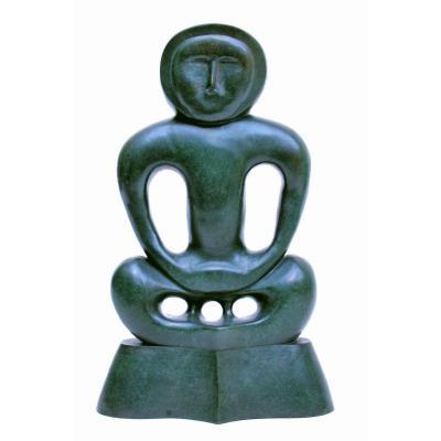 "David Bialobroda 80's bronze ""Placid & Anger"""