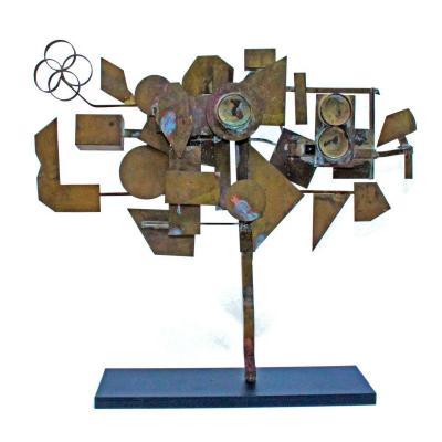 Serge Mendjisky (1929-2017) Sculpture Moderniste