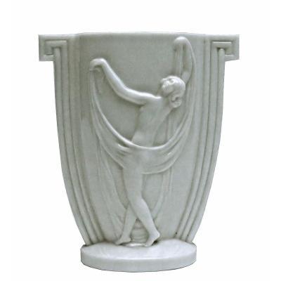 Etling Large Art Deco Vase Model 155
