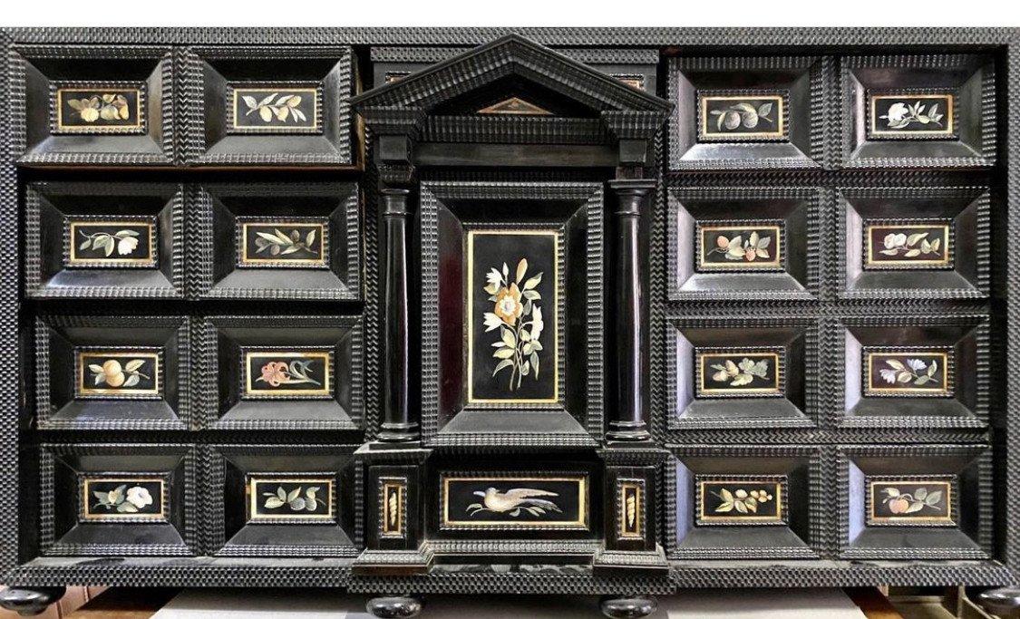 Ebony Coin Cabinet