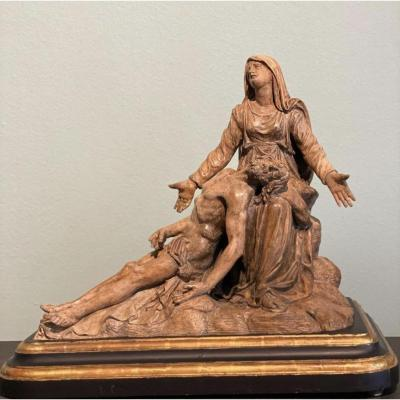 "Terre Cuore "" Le Christ Depose' Avec La Madeleine"