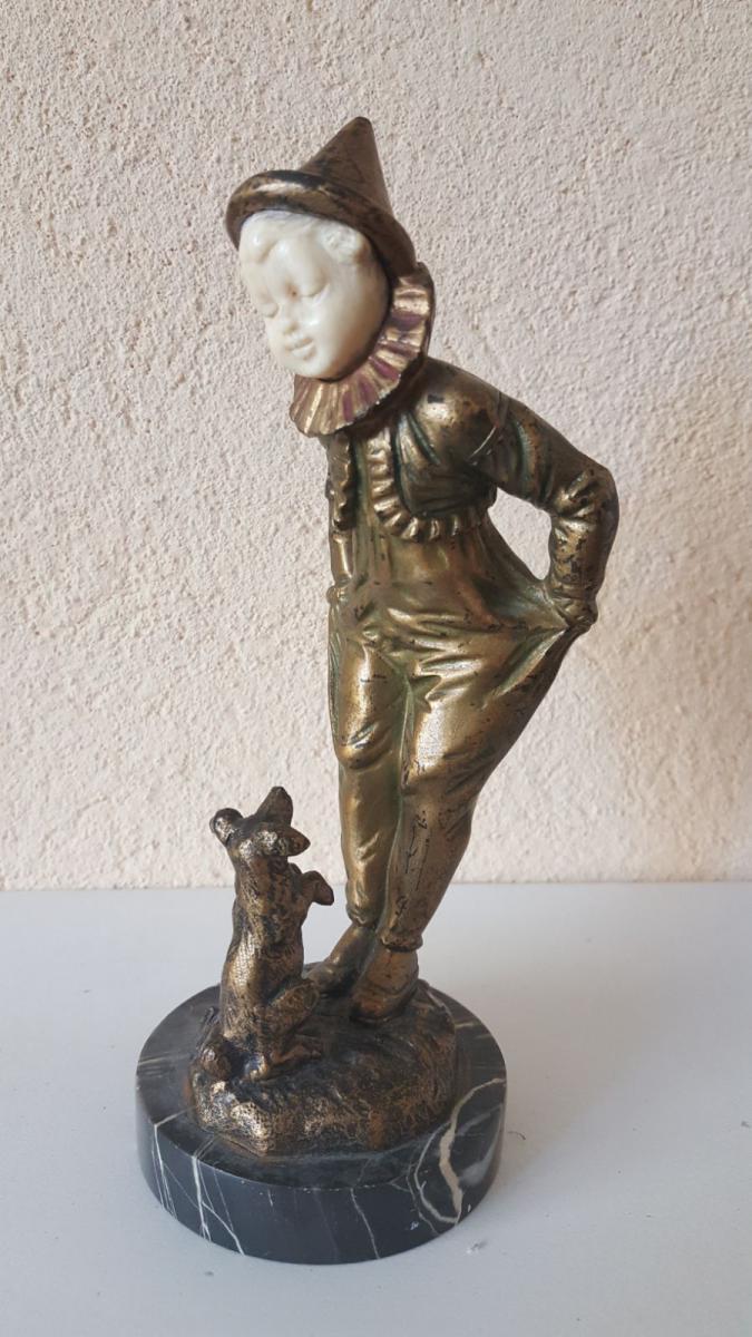 506. Omerth: Bronze et Ivoire