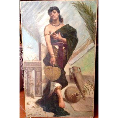 Huile Sur Toile, Peintre Orientaliste Français