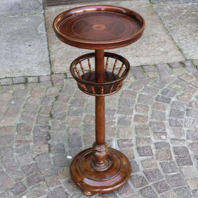 A 19th Italian Wood Pipe Table