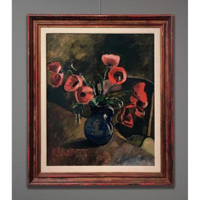 Maurice Asselin (1882-1947) Poppies, 1919
