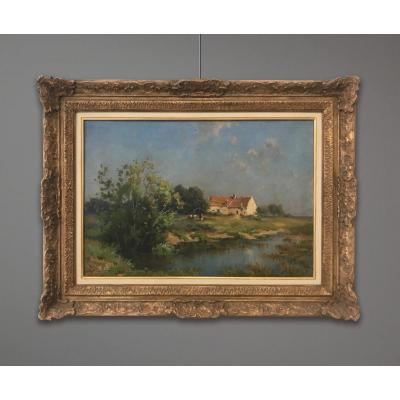 Daniel Duchemin (1866-1937) Paysage