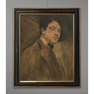 Paul Albert Besnard (1849-1934) Portrait de jeune, 1908