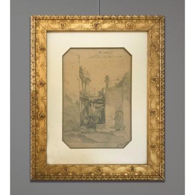 Alberto Pasini (1826-1899) Vue De l'Ancienne Laodicée, Lattaquié