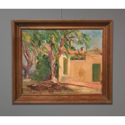 Fernand Maillaud (1862-1948) Paysage d'Ajoux