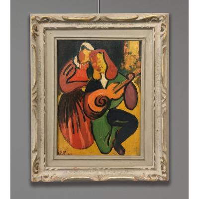 Henri Mauduit (1917-2006) Conteur, 1942, Paris