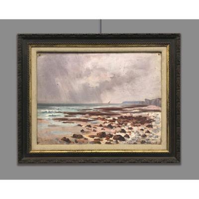 Daniel Duchemin (1866-1937) Paysage Marin, 1919