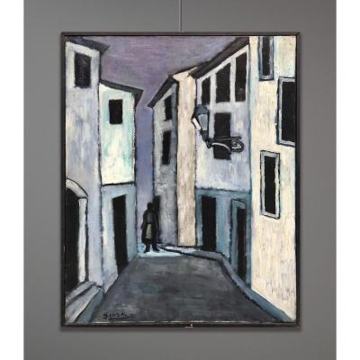 Yves Dendal (1933-2001) Sens Unique, Simple Petite Histoire D'amour, 1951