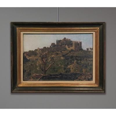 Georges Paul Leroux (1877-1957) Landscape With Castle Ruins