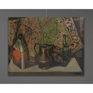 Artiste Du 20ème Siècle, Signé Colombo Guido, Nature Morte