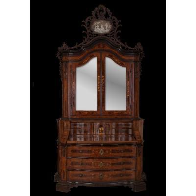Important Trumeau Vénitien Louis XV Milieu Du XVIIIe Siècle