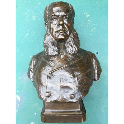 Bust Of Jules Grévy In Bronze
