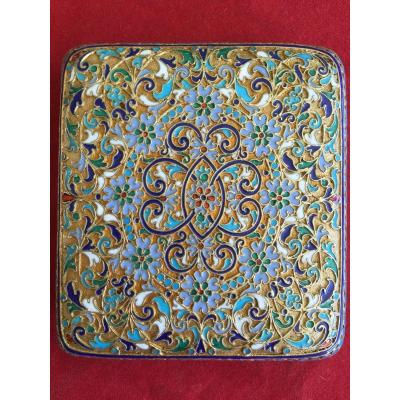 Enamelled Russian Box