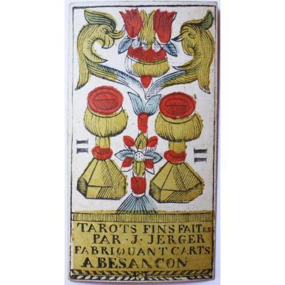 "Tarot ""of Besançon"" By Jacob Jerger"