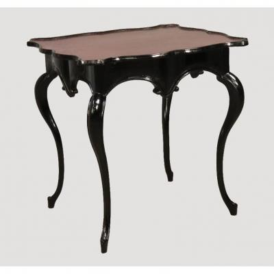 Louis XV Lacquered Wood Cabaret Table
