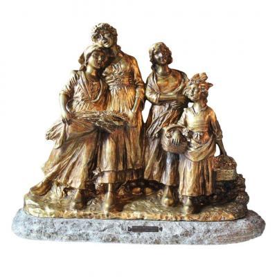 Sculpture After Joseph d'Aste 20th Century