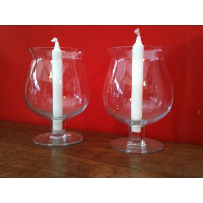 A Pair Of Crystal Tealight