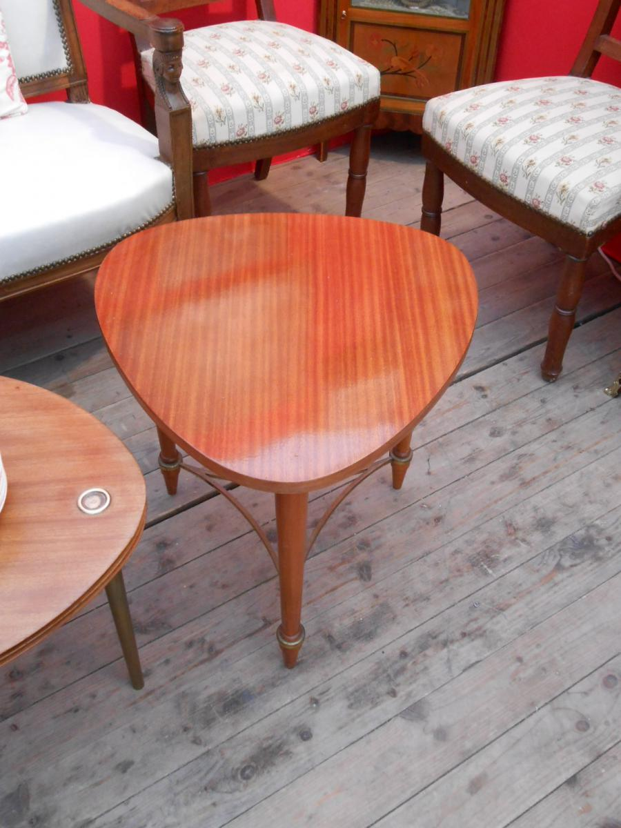 petite table de salon ann es 1950 tables basses. Black Bedroom Furniture Sets. Home Design Ideas