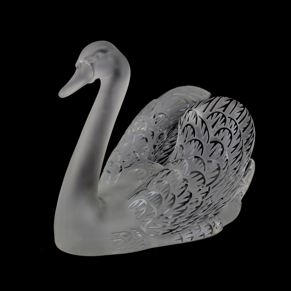 Lalique France Swan Right Head