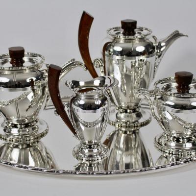 Silverwork Raynaud Tea / Coffee Set