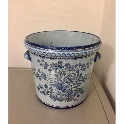 Nevers, Jean Montagnon. Large Planter With Handles