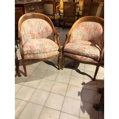 Pair Of Empire Armchair