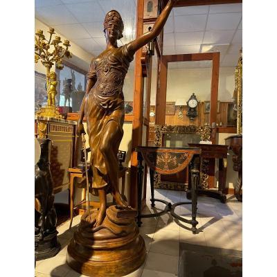Large Bronze A. Boucher