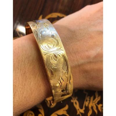 Bangle Bracelet XIX In Yellow Gold