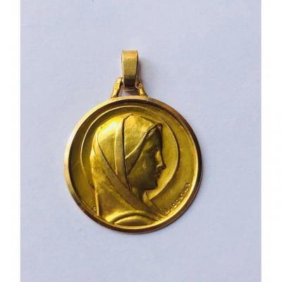 Medaille De La Vierge Marie De Georges Contaux