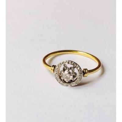 Bague Diamants XIXéme