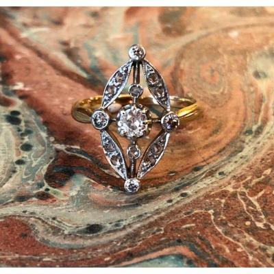 Bague 1900 Diamants