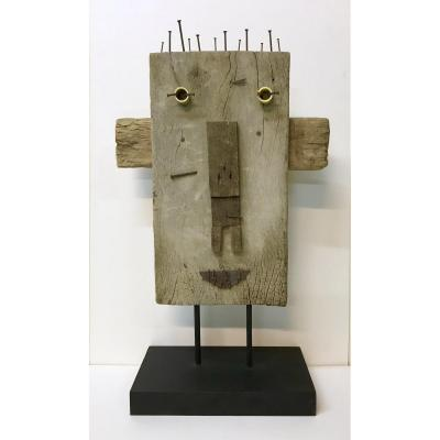 Art Brut / Naive Art / Modern Art. XX. Lady Mc Beth. Sculpture.