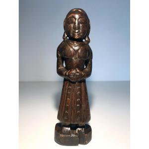 Religious Art / Sculpture India / Rajasthan / Bhil Ethnic Group / Gauri Cult XIXth